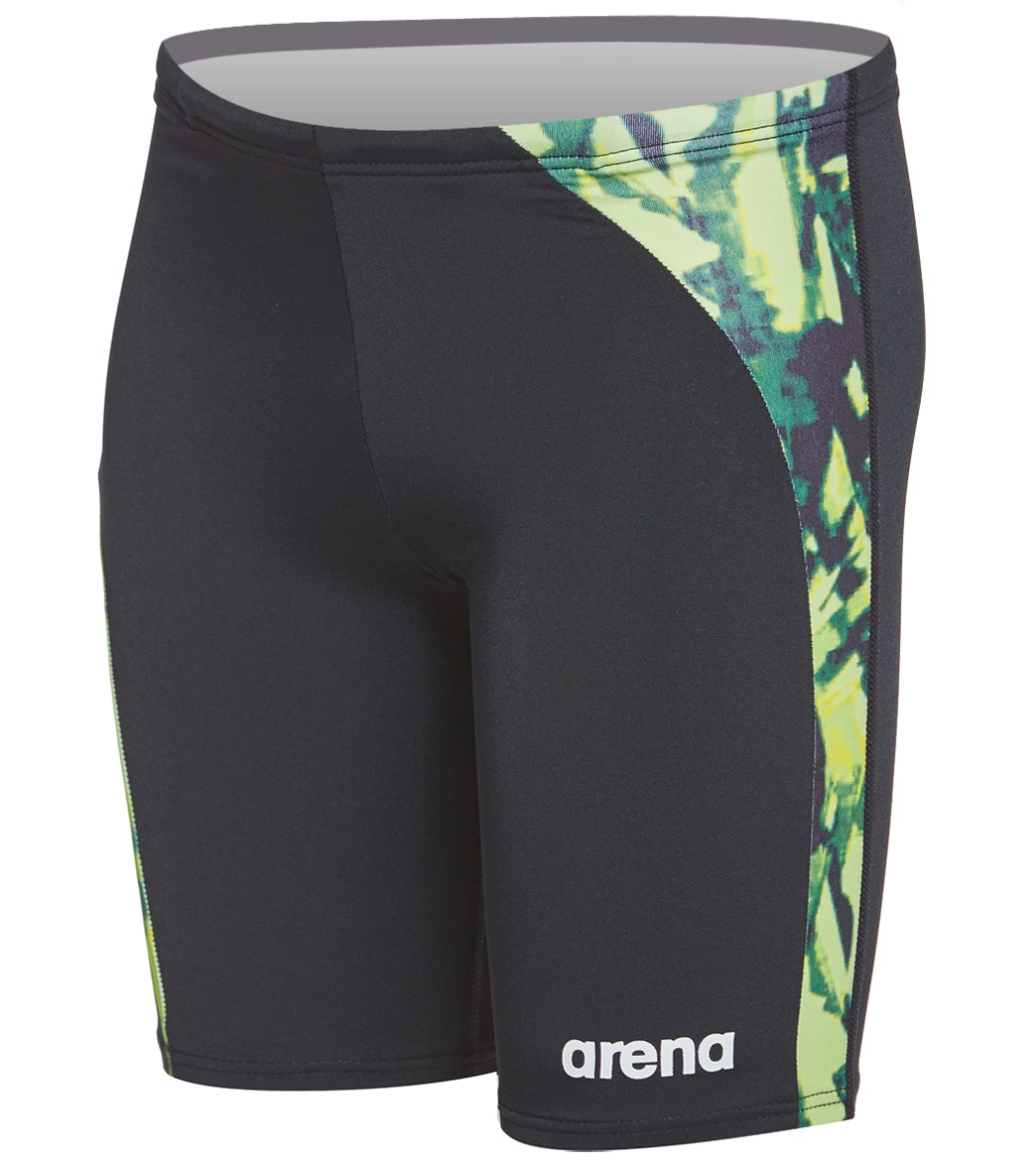 Arena Boys' Painted Jr. Jammer Swimsuit At SwimOutlet.com