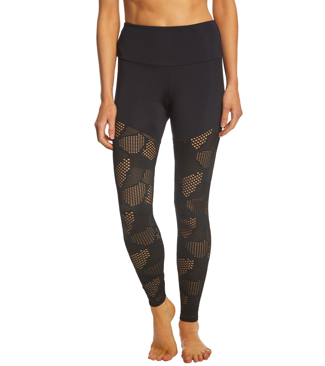 c6149732f2f6e Onzie Half/Half 2.0 7/8 Yoga Leggings at SwimOutlet.com - Free Shipping
