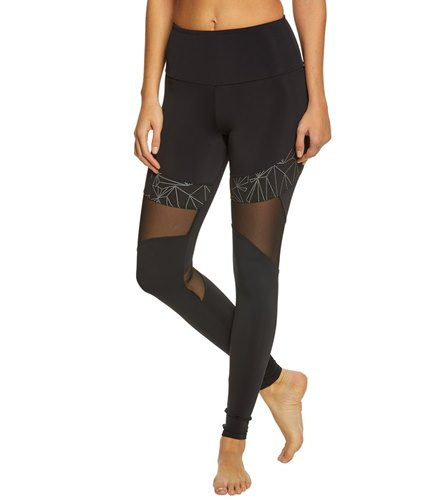 825d936f7f9ce Onzie High Waisted Royal Yoga Leggings at YogaOutlet.com - Free Shipping