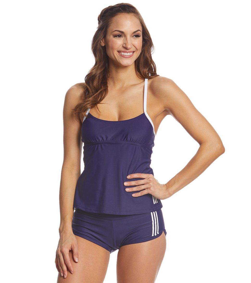 6431ef5e0d8 Adidas Women s Tankini at SwimOutlet.com - Free Shipping