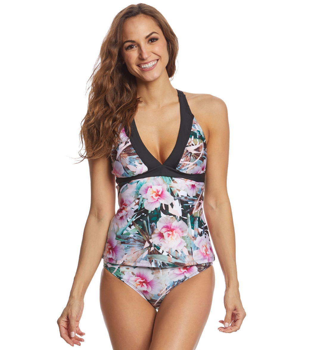 a45747056b68a Next Undercover Tropics Intensify Superwoman Tankini Top (D Cup) at  SwimOutlet.com - Free Shipping