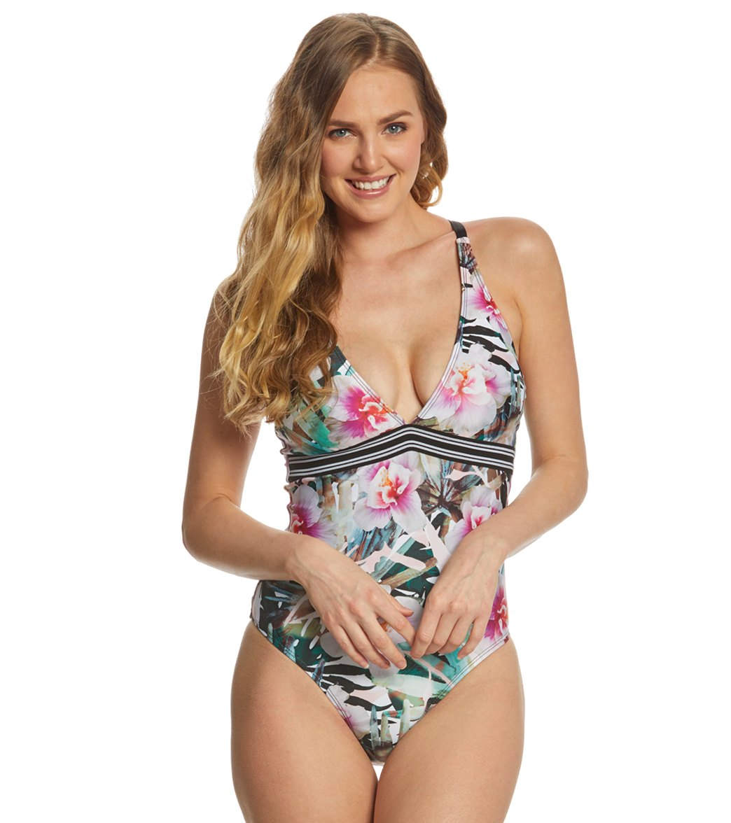 3bbd9f1144406 Next Undercover Tropics Apex One Piece Swimsuit at SwimOutlet.com - Free  Shipping