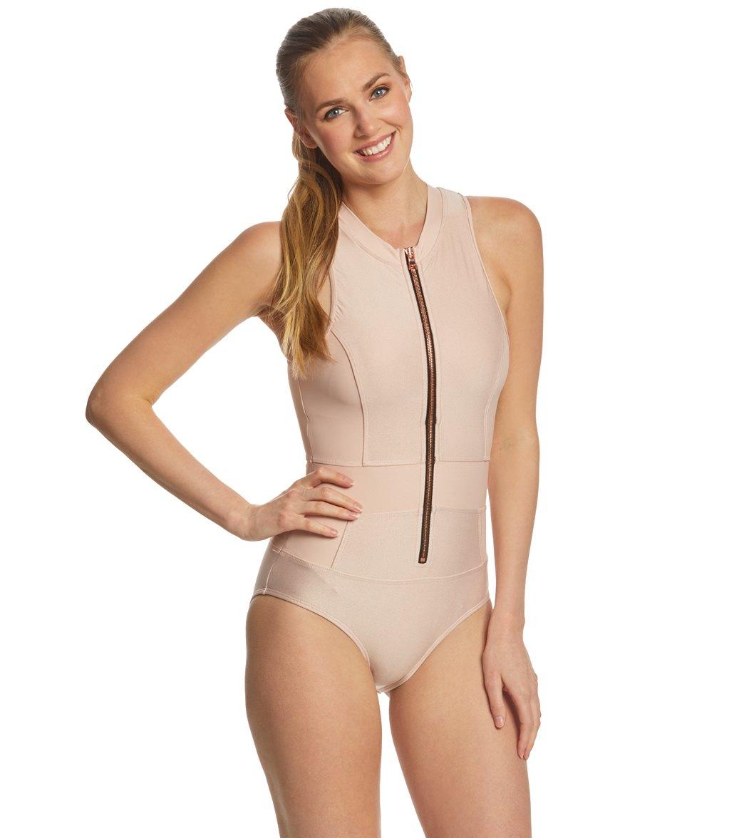 de8d2f1e0f501 Next Feeling Fine Malibu Tank One Piece Swimsuit at SwimOutlet.com - Free  Shipping