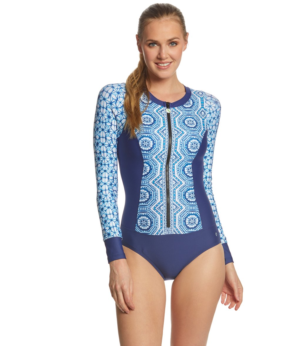 9f0fa42bc5 Next Spice Market Long Sleeve Malibu One Piece Swimsuit at SwimOutlet.com - Free  Shipping