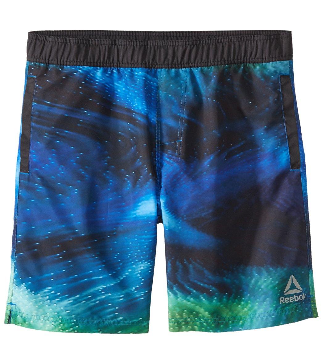 8a98dbd5fb11d Reebok Men's Deep Sea 8 inch Volley at SwimOutlet.com - Free Shipping