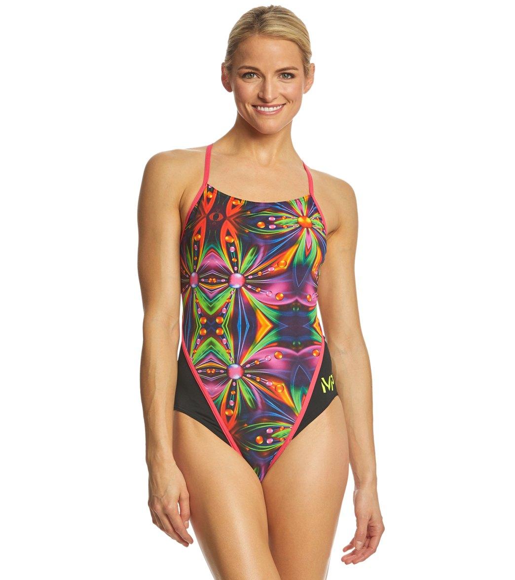 3a577c5ecc MP Michael Phelps Women's Zita Racerback One Piece Swimsuit at  SwimOutlet.com - Free Shipping