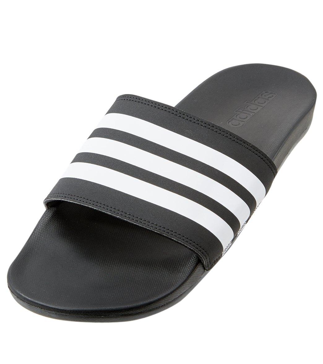 6b4ffad5356c69 Adidas Men s Adilette CF+ Slide Sandals at SwimOutlet.com