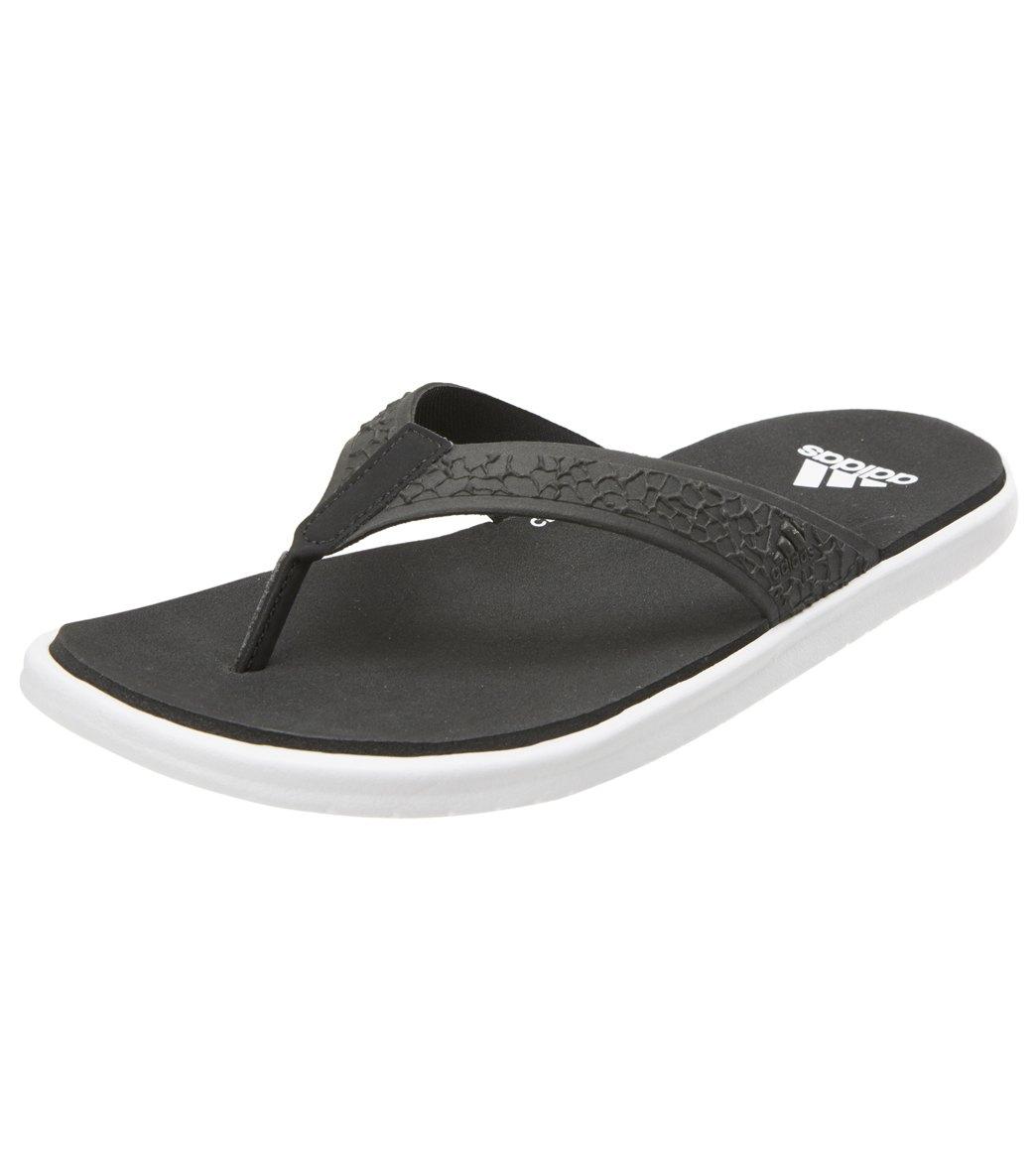c3c0e5c5d4a239 Adidas Women s Beachcloud Flip Flop at SwimOutlet.com