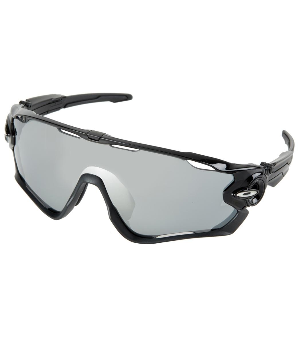 afb1394e6e Oakley Men s Jawbreaker Iridium Lens Sunglasses at SwimOutlet.com - Free  Shipping