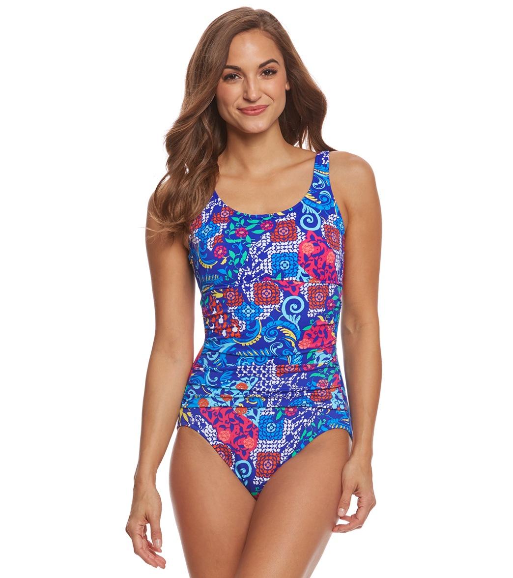 64606fbfebc ... Penbrooke Bali Mastectomy Empire One Piece Swimsuit. Play Video. MODEL  MEASUREMENTS