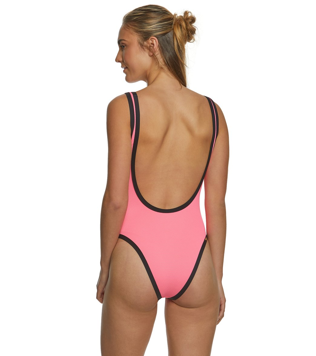 7151ac8b1c Eidon Culebra Jenny Tank One Piece Swimsuit at SwimOutlet.com - Free ...