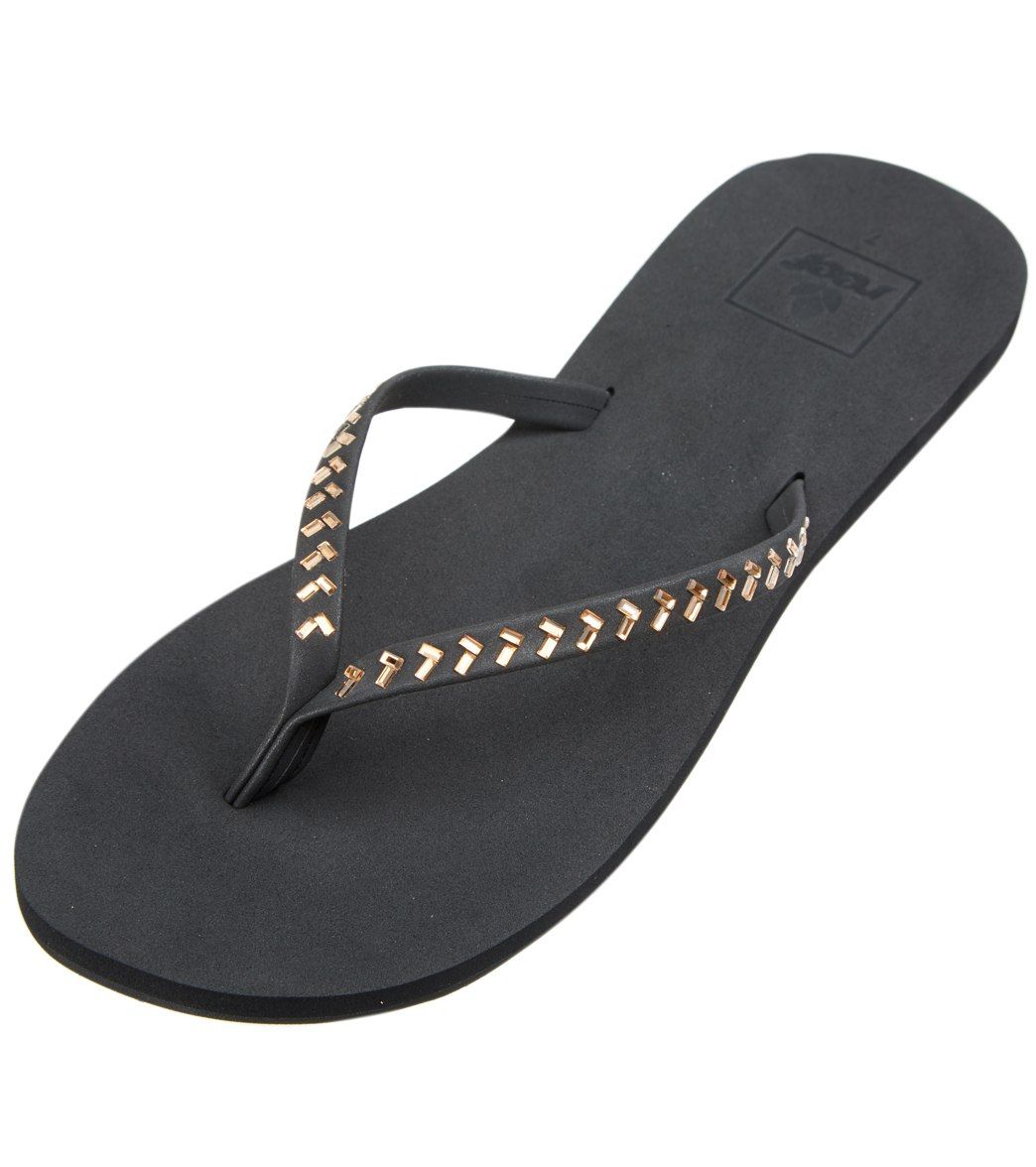 f7f9260091e7 Reef Women s Bliss Embellished Flip Flop at SwimOutlet.com