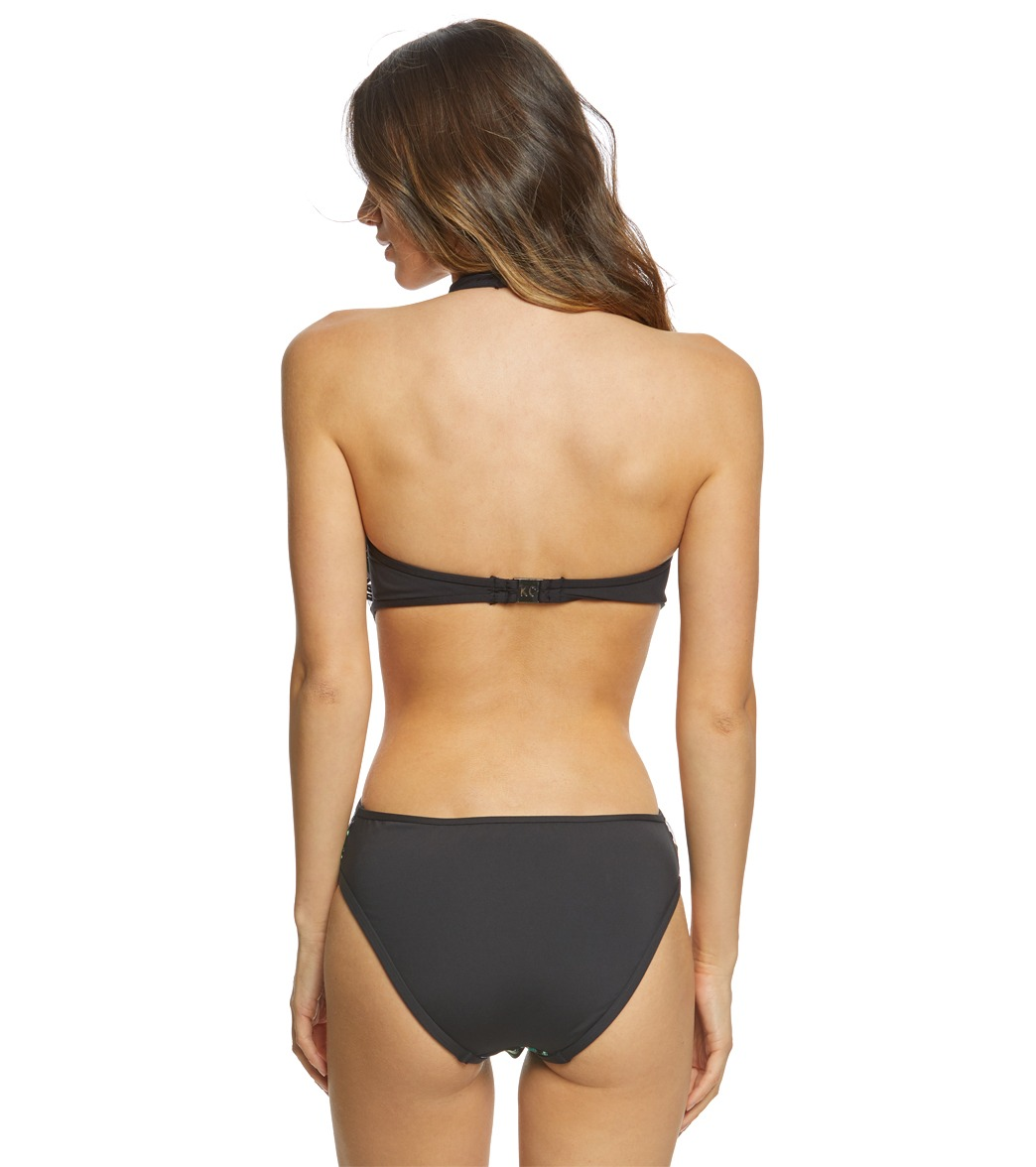 3d457826b1 Kenneth Cole After the Sun-Sets High Neck Monokini One Piece Swimsuit