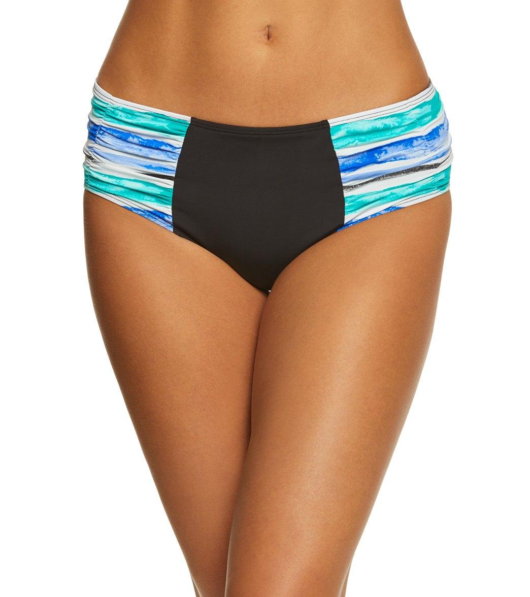 39527808cd Skye Aqueous Alessia High Rise Bikini Bottom at SwimOutlet.com - Free  Shipping