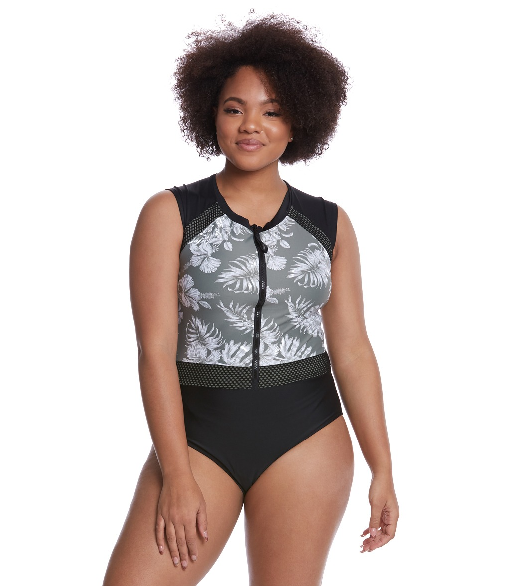 37187df6aebbc Skye Plus Size Moana Lilith One Piece Swimsuit at SwimOutlet.com ...