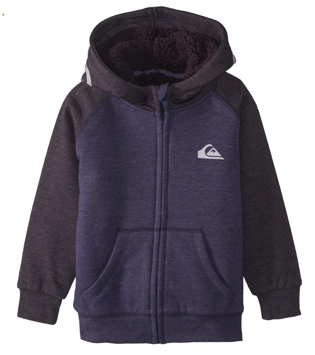 40ee43a64cb Quiksilver Boys  Juwa Sherpa Zip Hoodie (Little Kid) at SwimOutlet.com -  Free Shipping