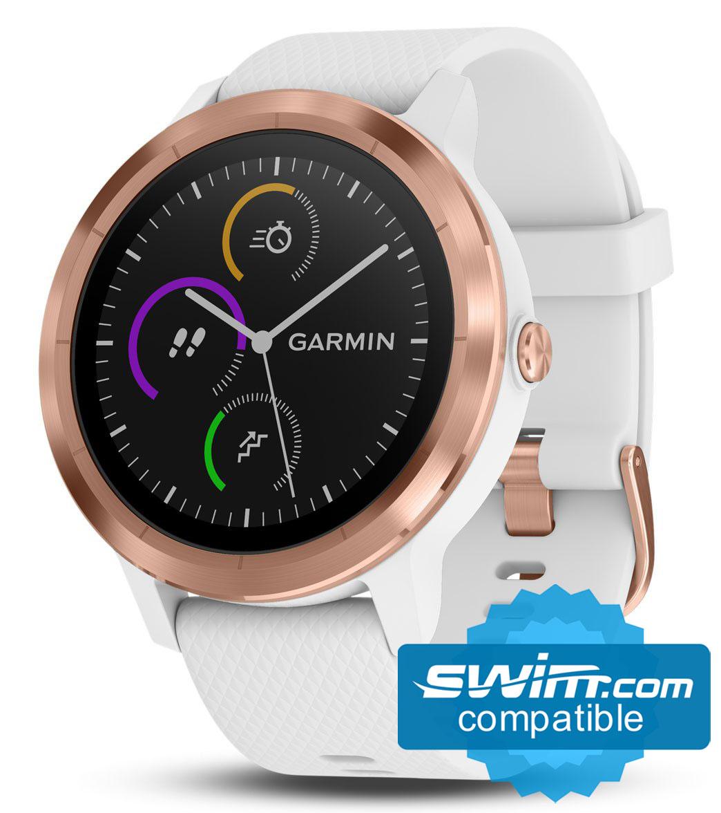 68715f9bcaa3 Garmin Vivoactive 3 GPS Smartwatch at SwimOutlet.com - Free Shipping