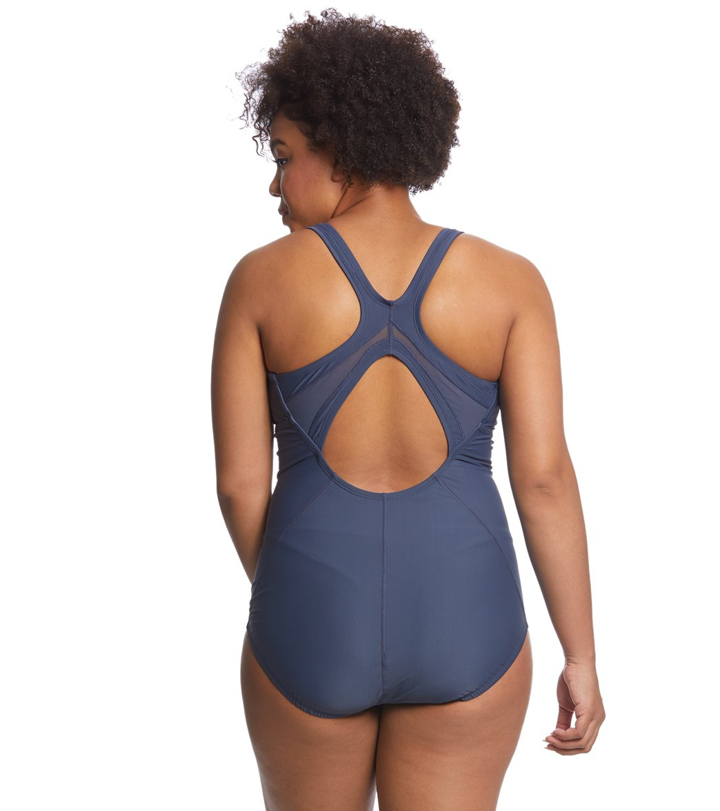 4eca7946017e5 Nike Women s Plus Size Epic One Piece Swimsuit at SwimOutlet.com - Free  Shipping