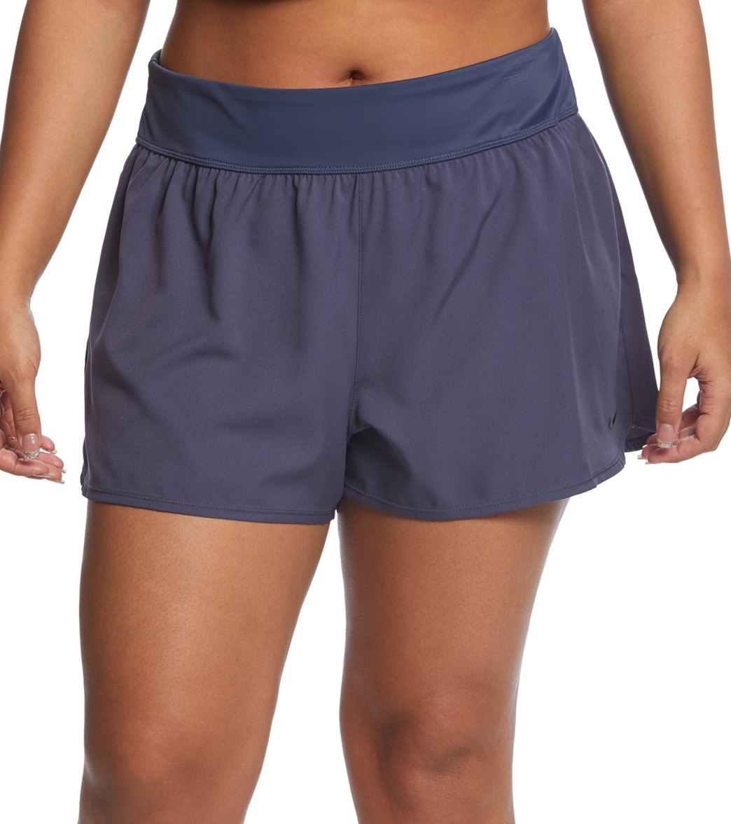 ab3b1fff53 Nike Women's Plus Size Boardshort Bottom at SwimOutlet.com - Free ...