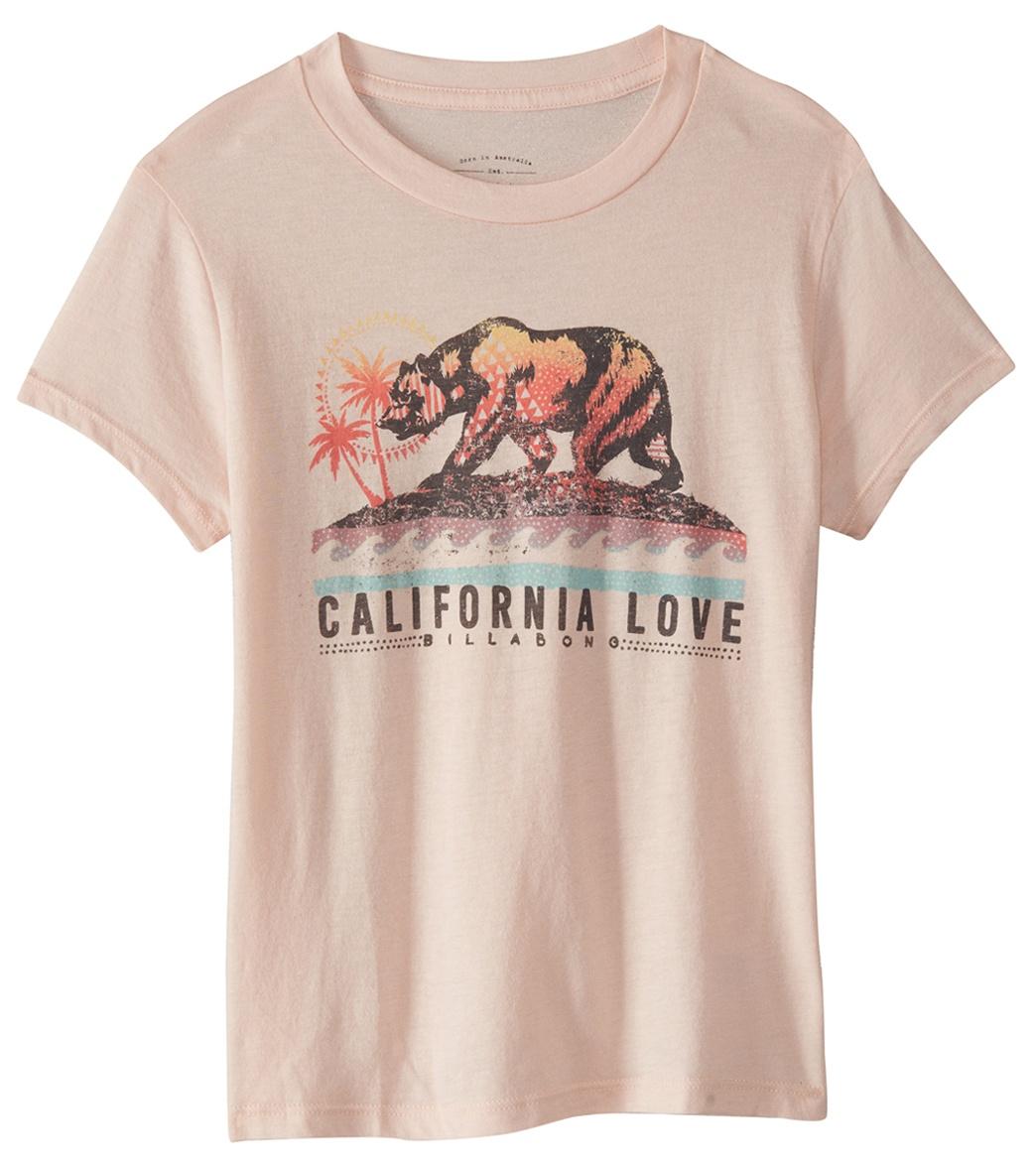 360e120a Billabong Girls' Cali Love Bear Tee Shirt