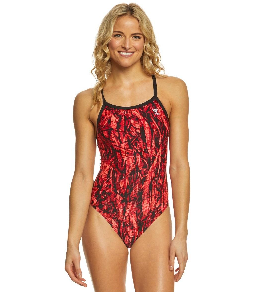 fa796dac4953 TYR Women s Sagano Diamondfit One Piece Swimsuit at SwimOutlet.com - Free  Shipping