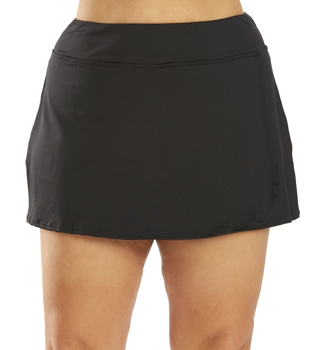 TYR Plus Size Swim Skort at SwimOutlet.com - Free Shipping 990507697b0b