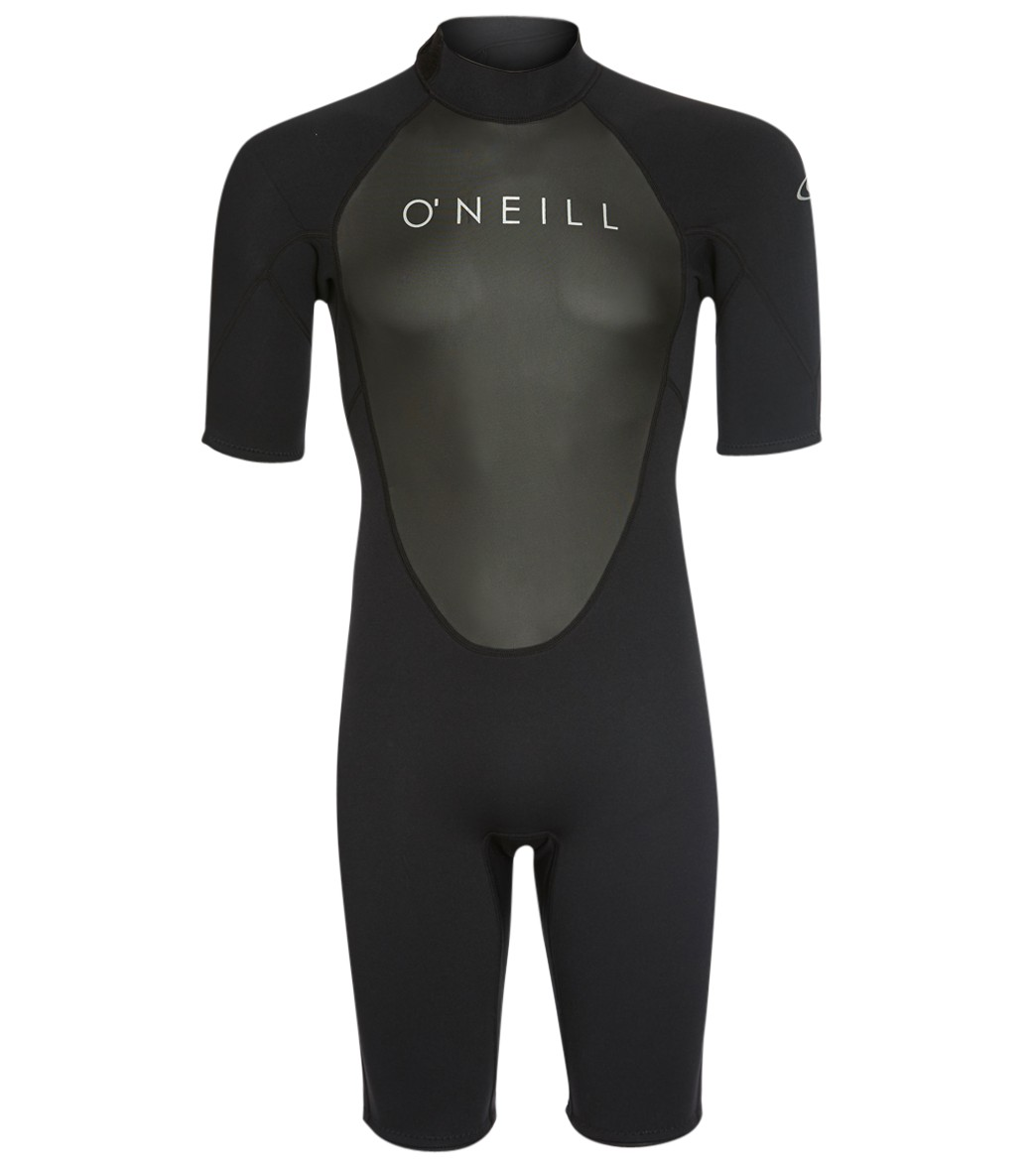 50d7f59876 O Neill Men s 2MM Reactor II Back Zip Short Sleeve Spring Suit at  SwimOutlet.com - Free Shipping