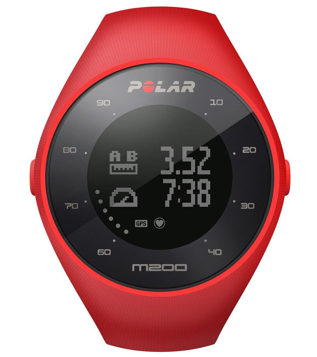 Polar M200 GPS Running Watch at SwimOutlet.com