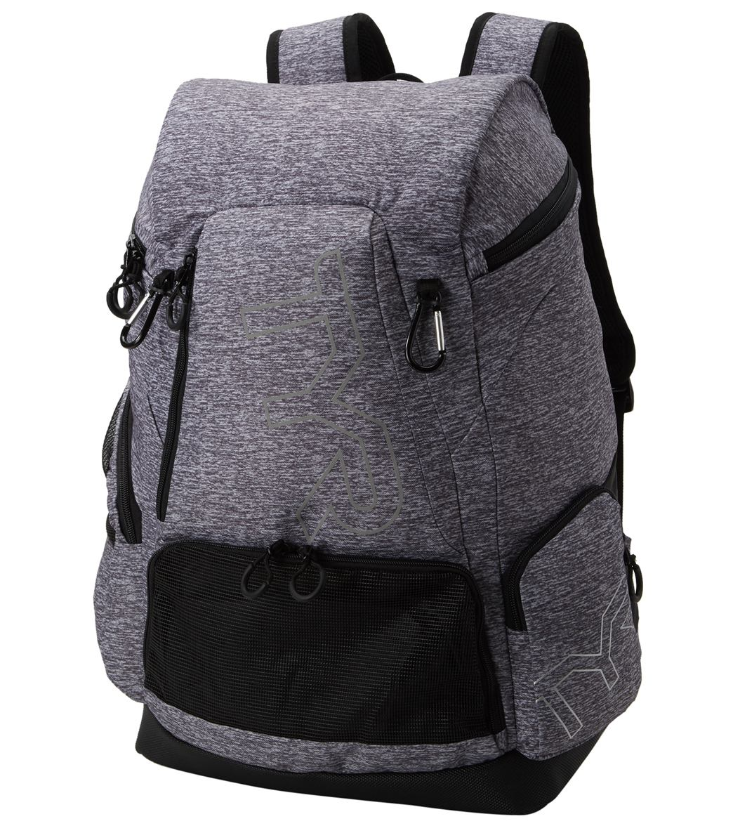 TYR Alliance 45L Heather Print Backpack at SwimOutlet.com - Free ... 12433d603d67c