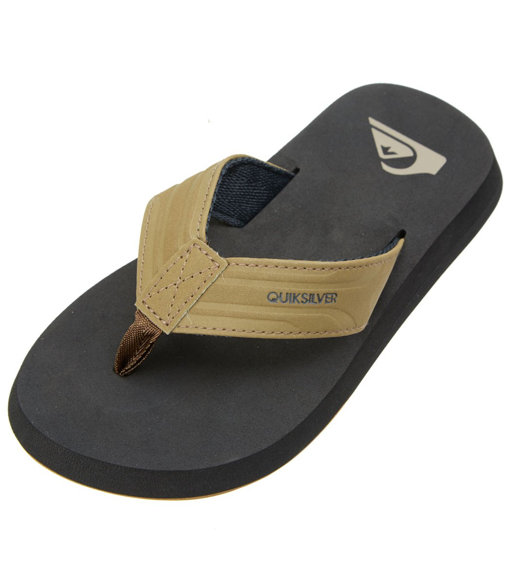 d979ad657f44 Quiksilver Boys  Monkey Wrench Flip Flop at SwimOutlet.com