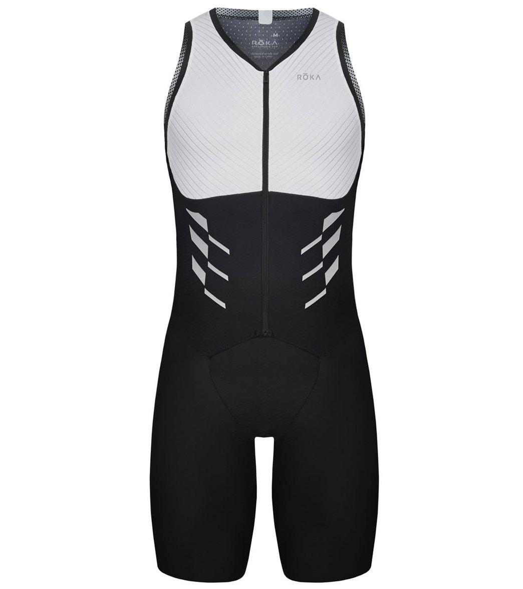 93400be95f3 ROKA Men s Elite Aero II Sleeveless Tri Suit at SwimOutlet.com - Free  Shipping