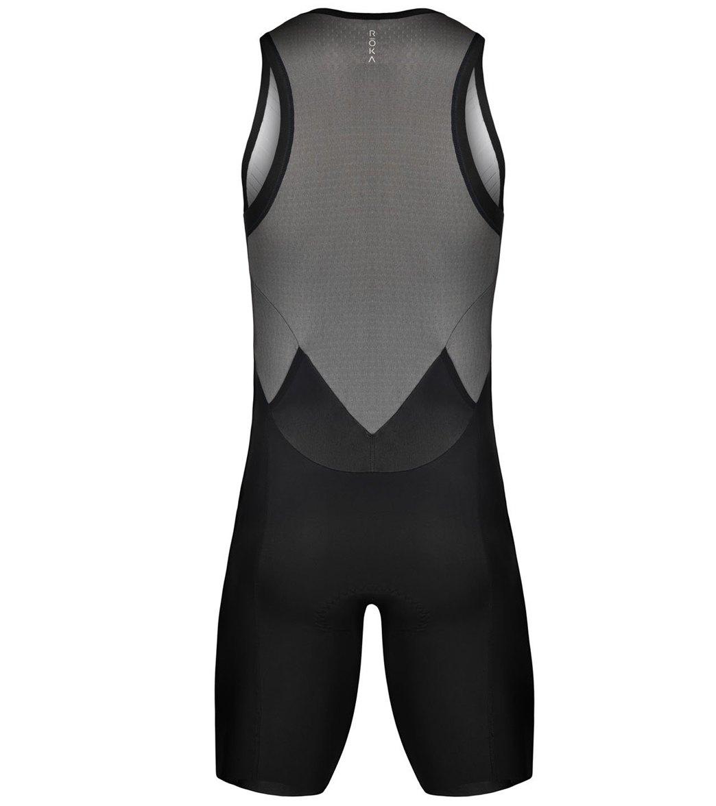 d112cc09c37 ROKA Men s Elite Aero II Sleeveless Tri Suit at SwimOutlet.com ...