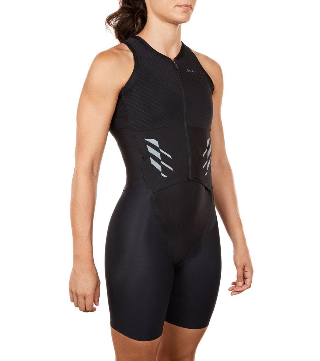 71c968cc284 ROKA Women s Elite Aero II Sleeveless Tri Suit at SwimOutlet.com ...