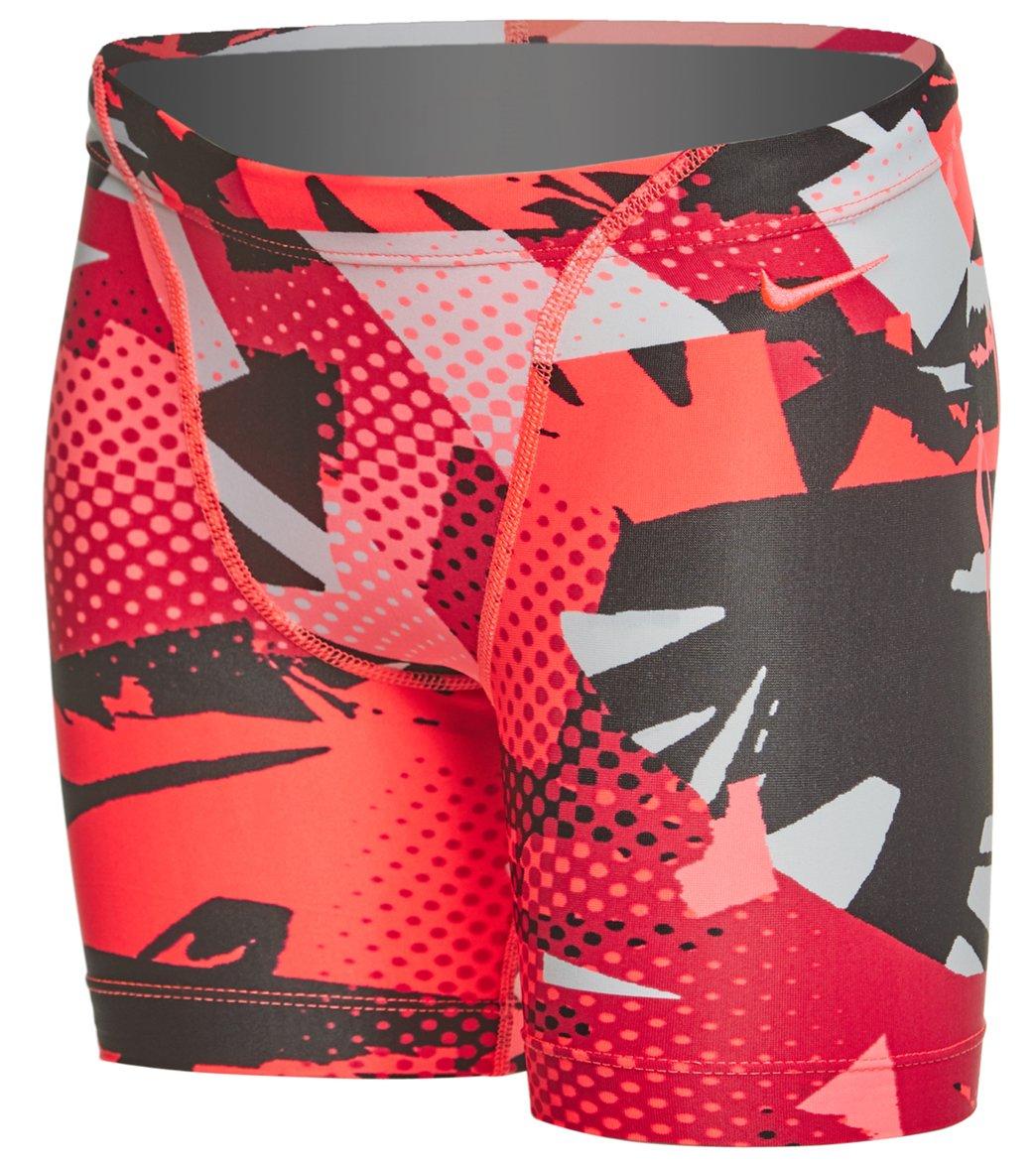 8ce7ba0706 Nike Boys' Drift Graffiti Jammer Swimsuit at SwimOutlet.com