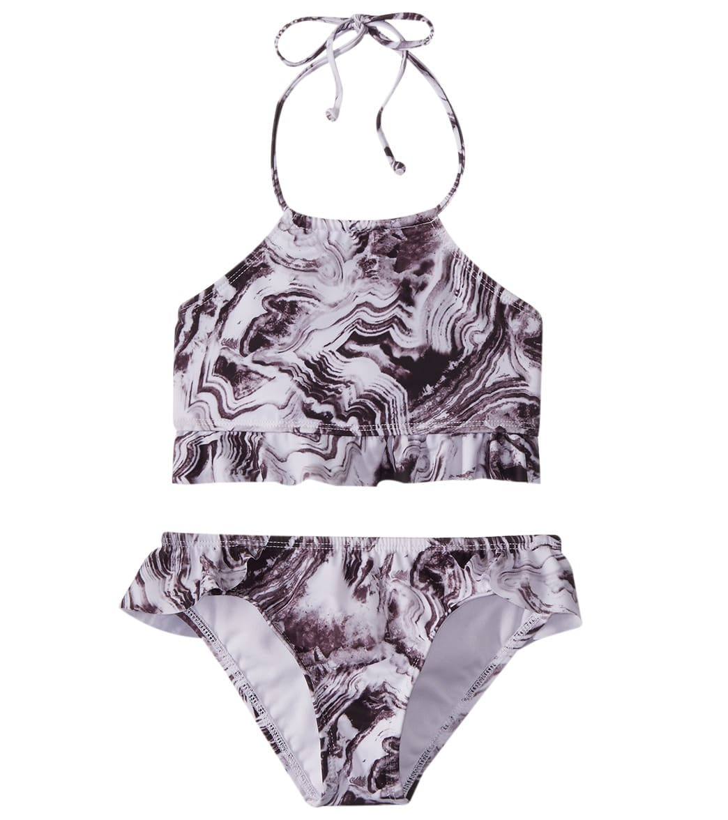 dccdfe4e200d4 Reef Girls' Mod Squad High Neck Two Piece Bikini Set (Big Kid) at  SwimOutlet.com - Free Shipping