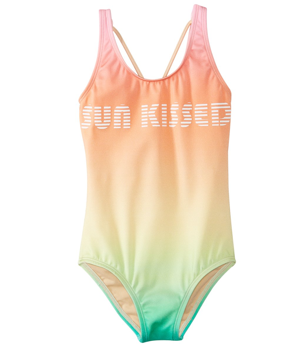 391195b7a9fa25 Reef Girls' Teen Spirit Retro Maillot One Piece Swimsuit (Big Kid) at  SwimOutlet.com - Free Shipping
