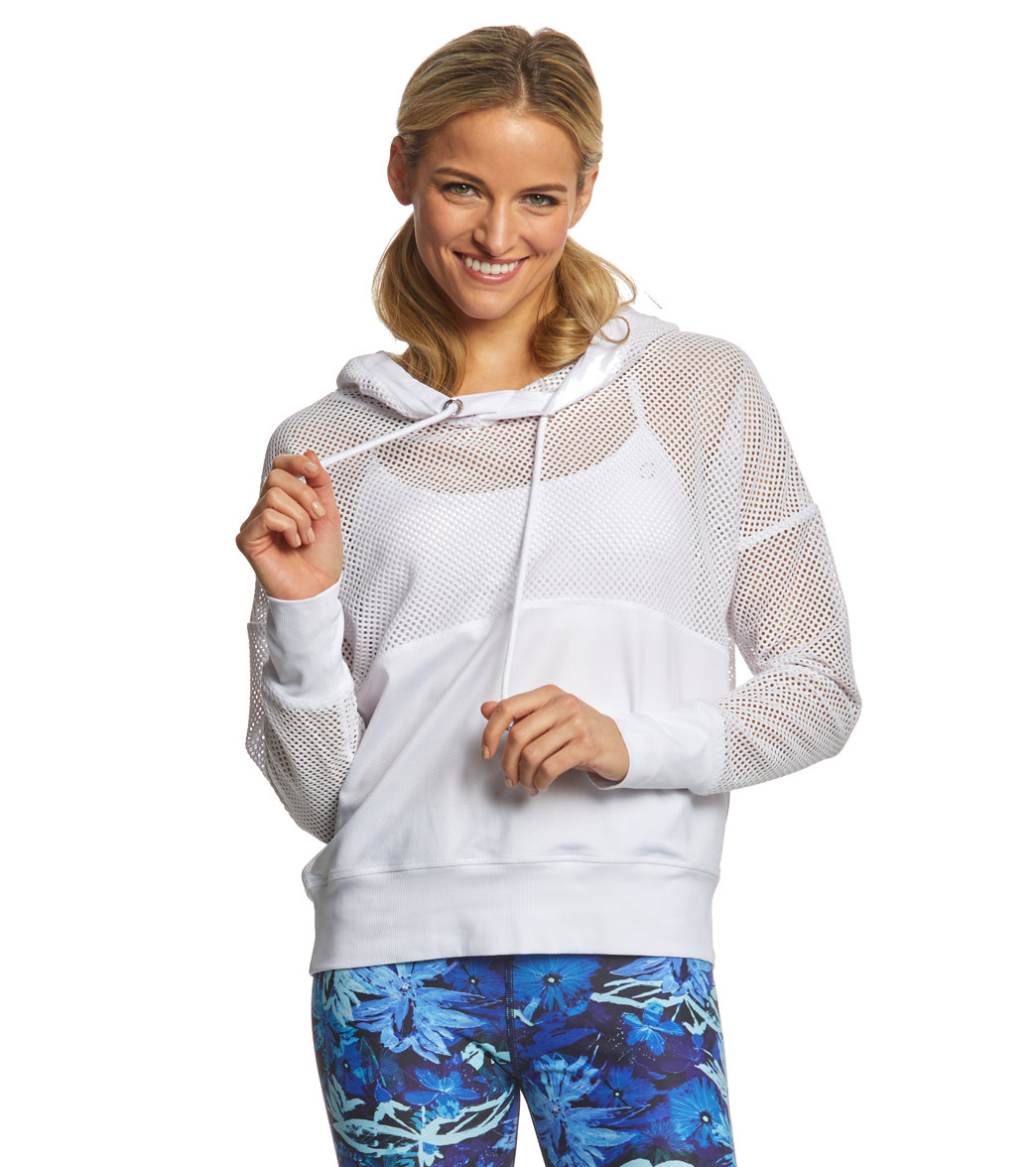 Lorna Jane Feel The Beat Cropped Hoodie at YogaOutlet.com - Free Shipping