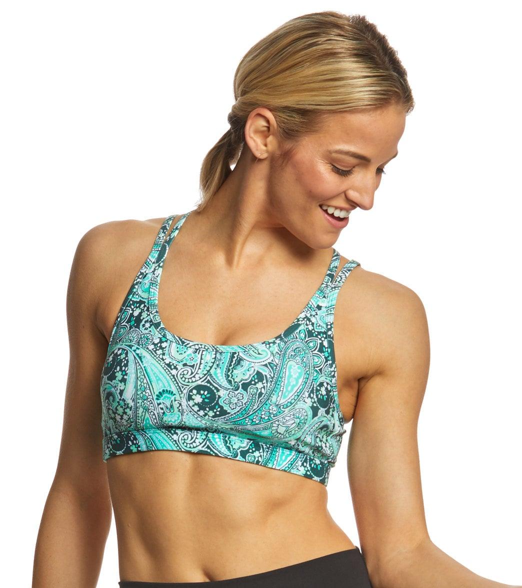 fe44a1fc03 Lorna Jane Paisley Dream Sports Bra at SwimOutlet.com - Free Shipping