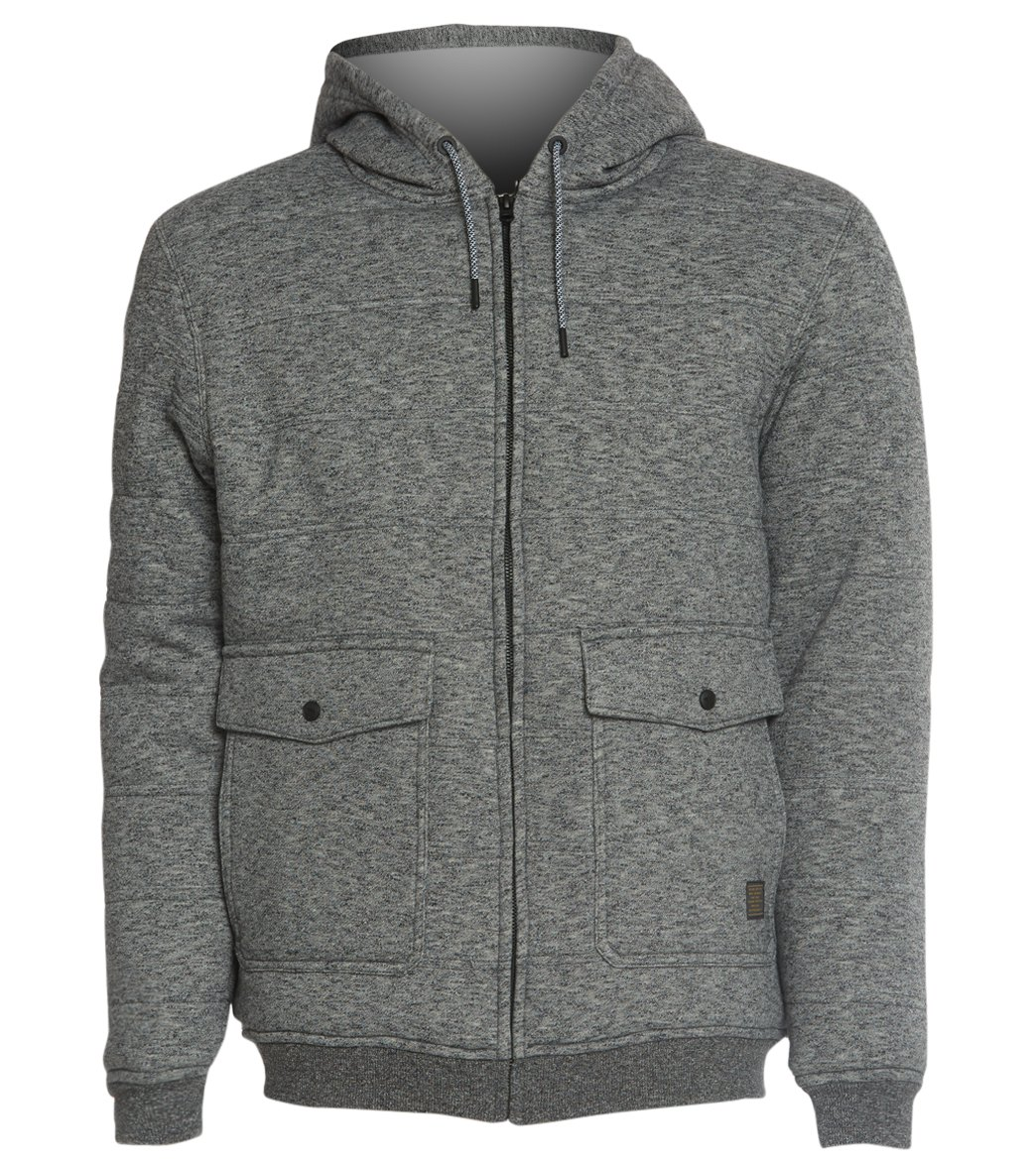e0800fdd Rip Curl Men's Destination Sherpa Fleece Zip Hoodie at SwimOutlet.com -  Free Shipping