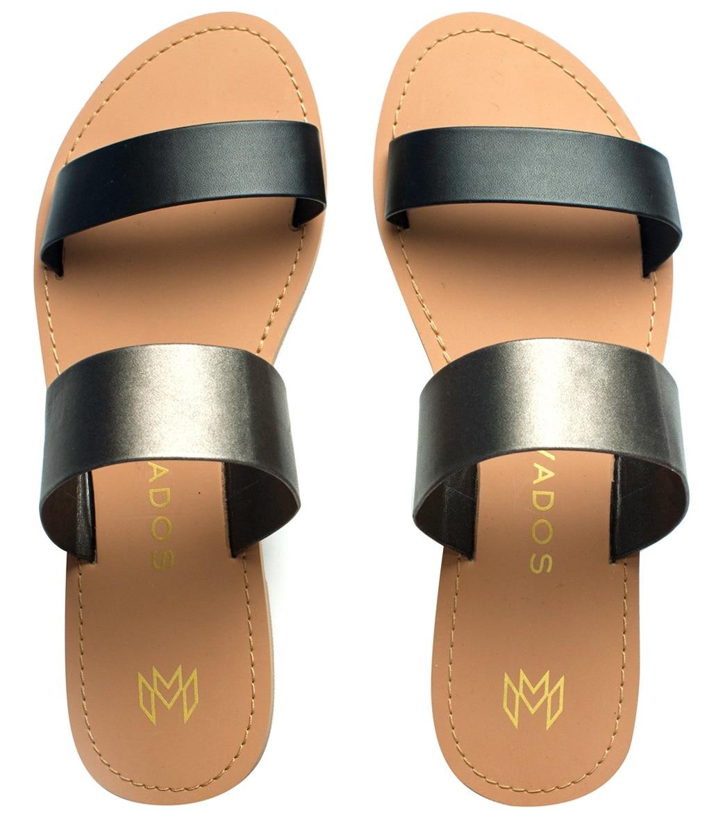 d4b910a4887 Malvados Women s Azalea Double Strap Slide Sandal at SwimOutlet.com