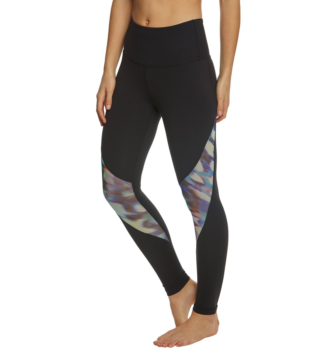 57a942e4 Beyond Yoga Prismatic High Waisted Midi Yoga Leggings at YogaOutlet ...