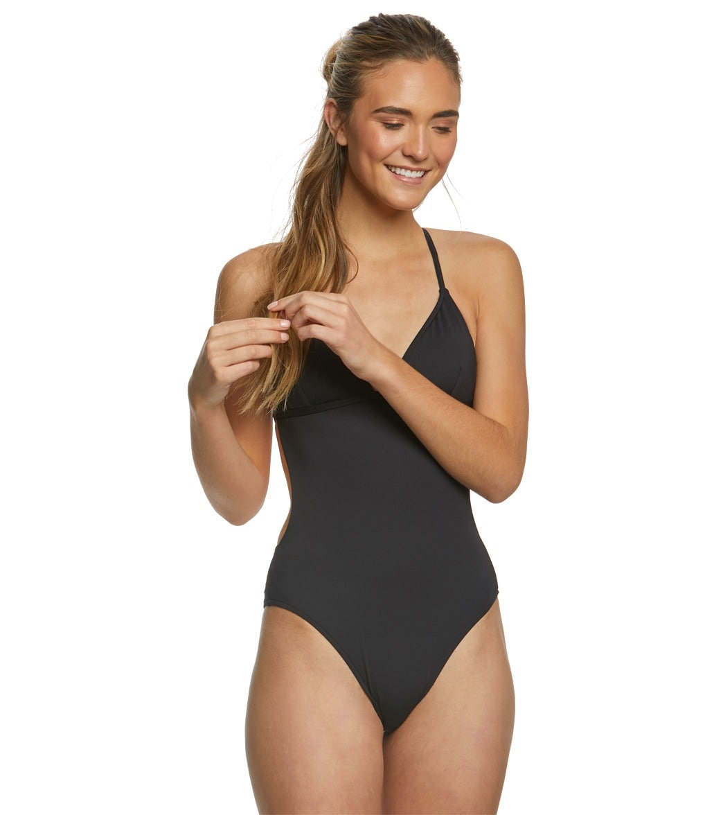Rip Curl Womens Classic Surf Cross Back One Piece Swimsuit