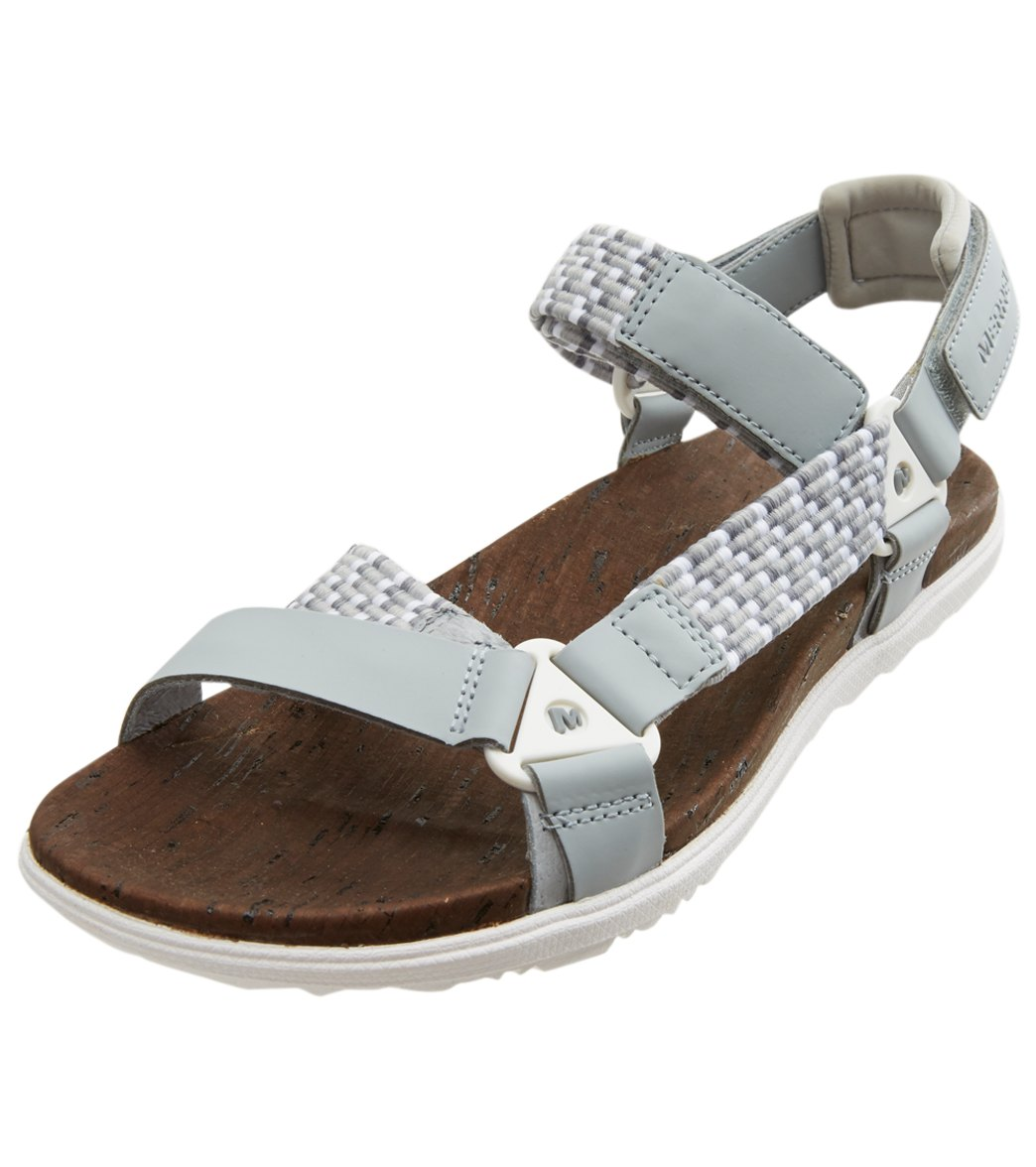 3f34e96c3 Merrell Women s Around Town Sunvue Woven Sandal at SwimOutlet.com - Free  Shipping