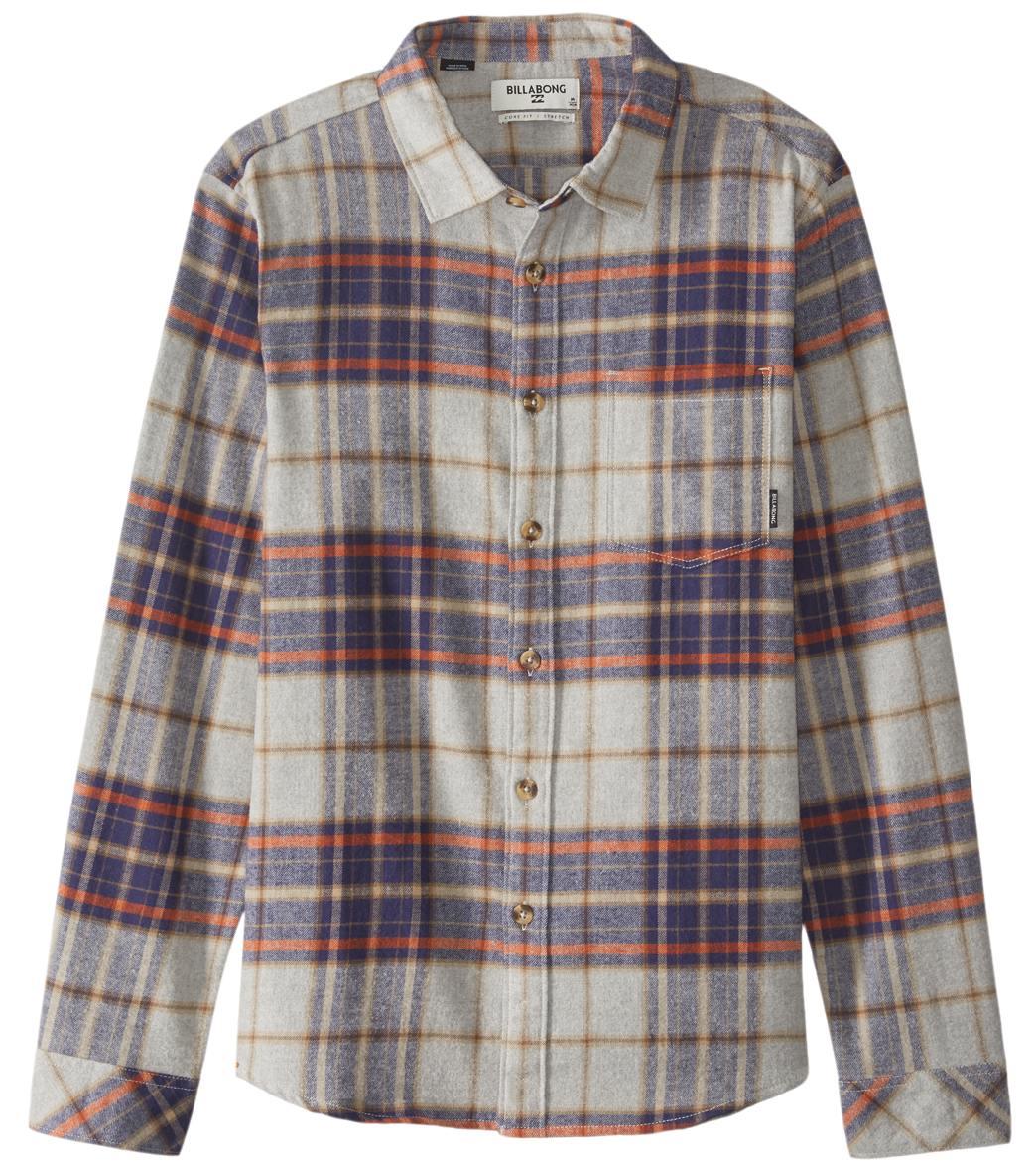 4b1fdfc3b Billabong Men's Coastline Flannel Shirt at SwimOutlet.com - Free ...