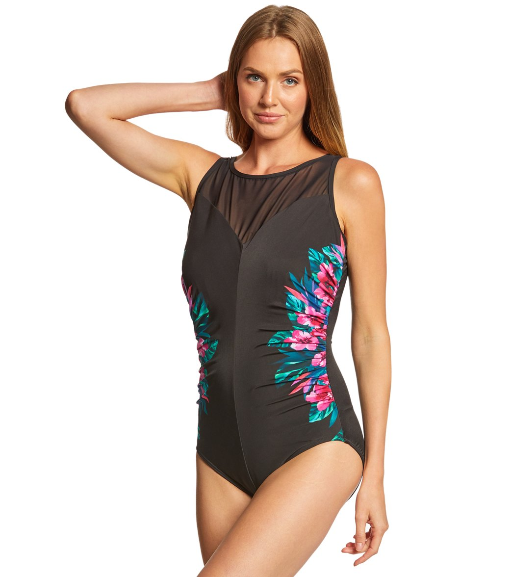 c8bc4843443 Miraclesuit Tahitian Temptress Fascination One Piece Swimsuit (DD Cup)