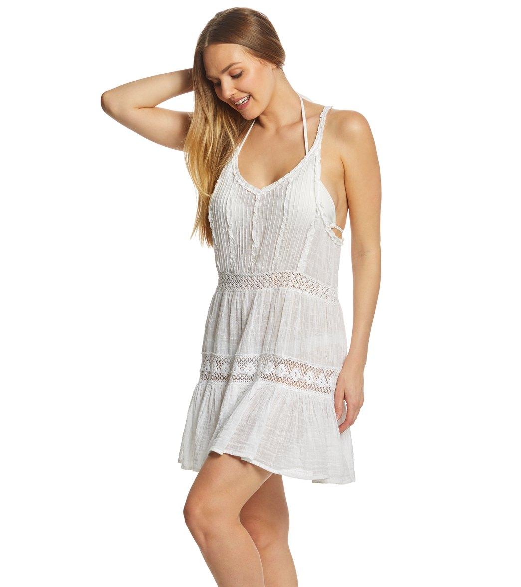 becfaa0993 Polo Ralph Lauren Cotton Slub Coverup Dress at SwimOutlet.com - Free ...