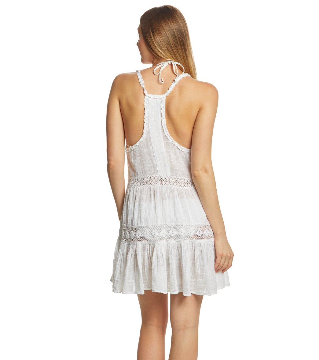 becfaa0993 Polo Ralph Lauren Cotton Slub Coverup Dress at SwimOutlet.com - Free ...