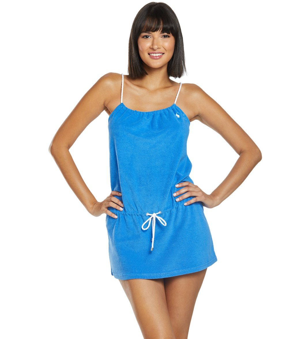41f44d76fe Polo Ralph Lauren Iconic Terry Cover Up Rope Dress at SwimOutlet.com - Free  Shipping