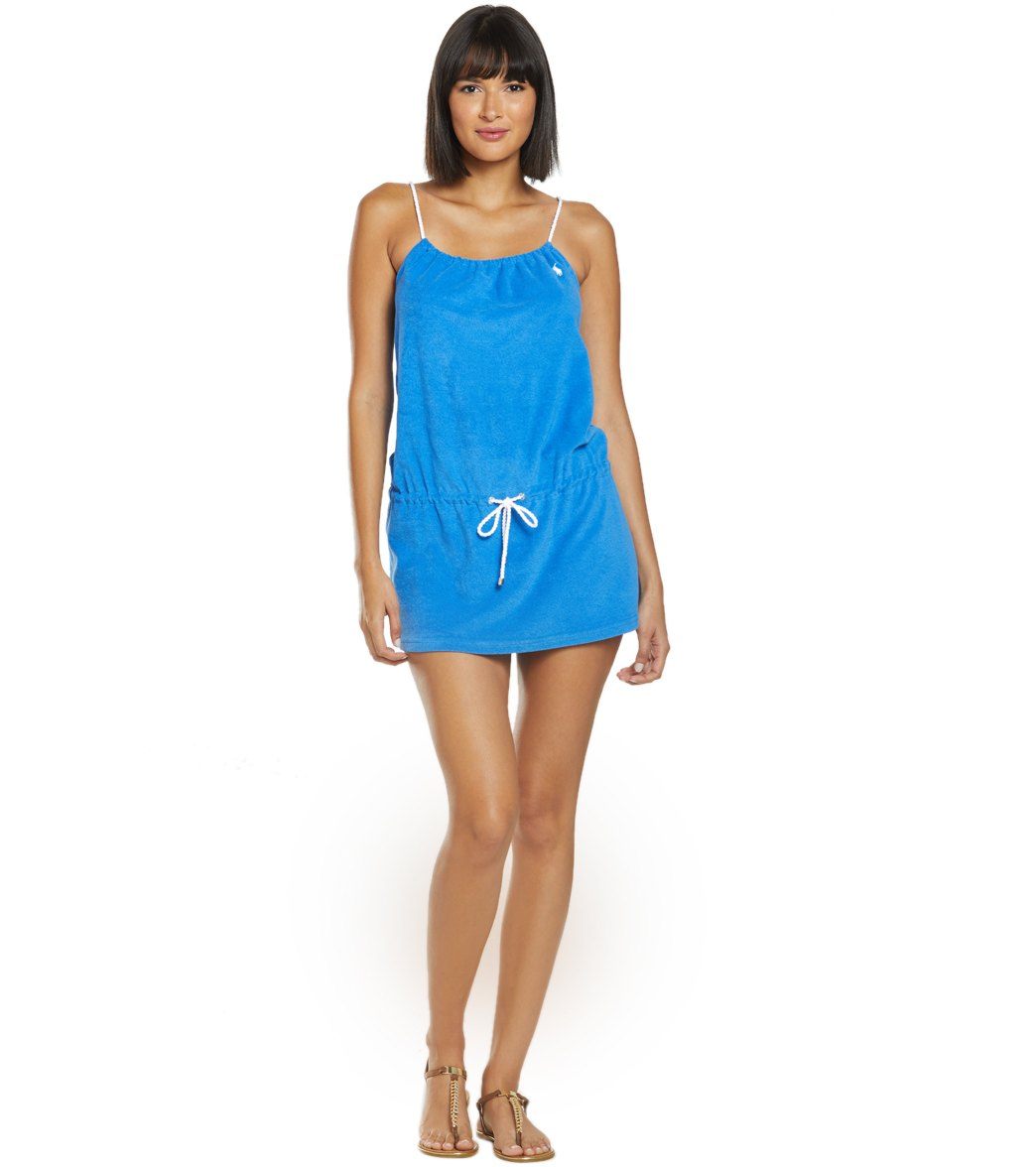 8dab99c55de Polo Ralph Lauren Iconic Terry Cover Up Rope Dress at SwimOutlet.com ...