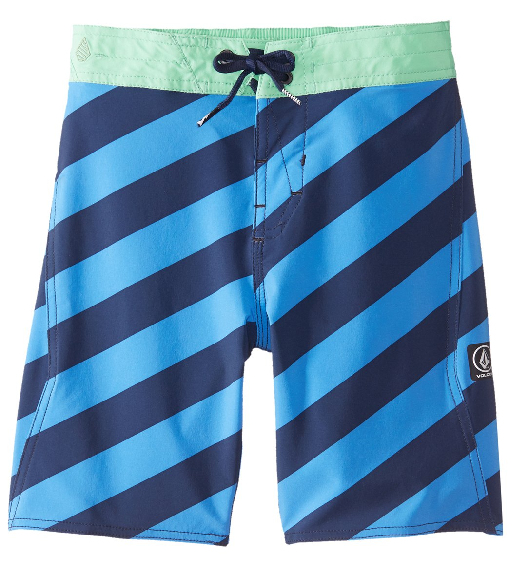 d0d65983c8d Volcom Boys' Stripey Elastic Boardshort (Toddler, Little Kid, Big Kid) at  SwimOutlet.com